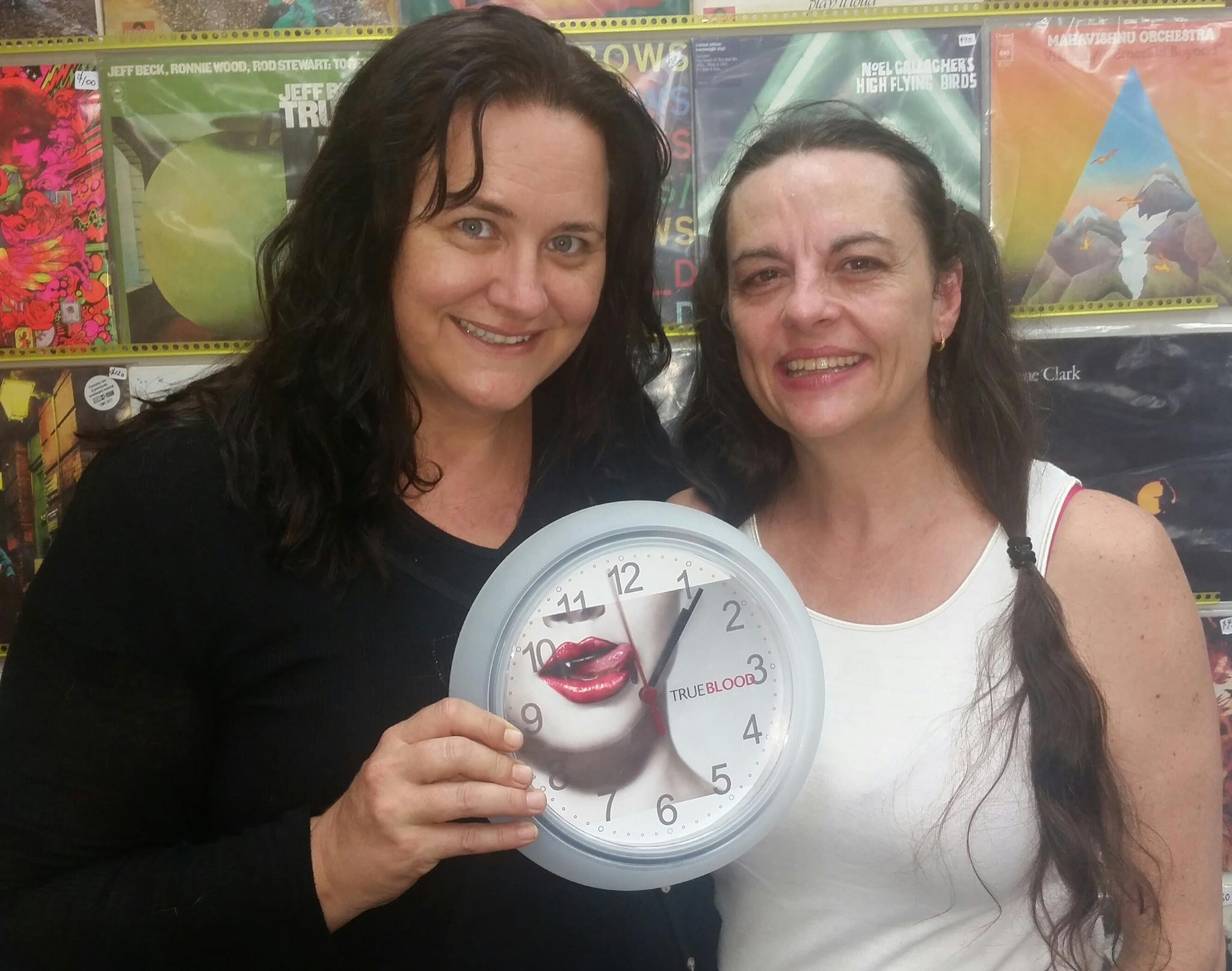 Lizzie French on right with Layla McNeil, another happy RPM customer!