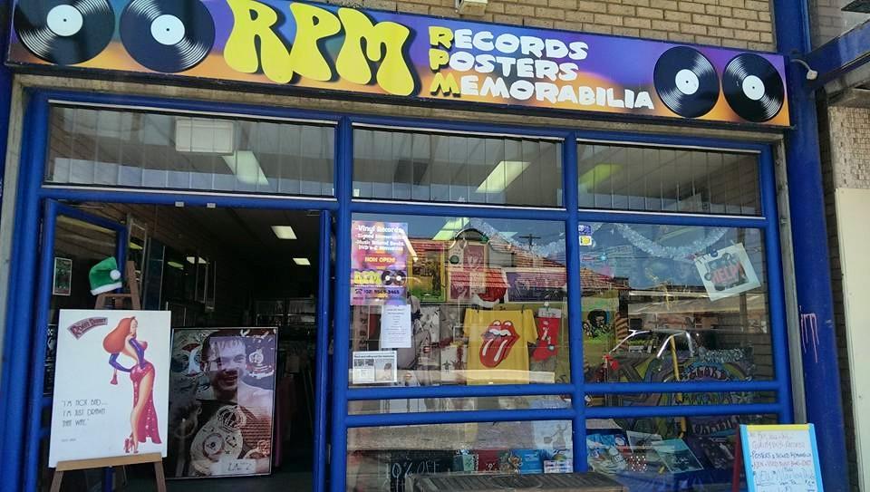 Front Window of Shop